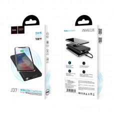 УМБ Power Bank Hoco J37 Wisdom Wireless Charger 10000mAh Black