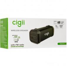 Колонка портативная Bluetooth Cigii F41 Black