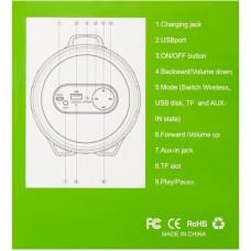 Колонка портативная Bluetooth Cigii S22B Black