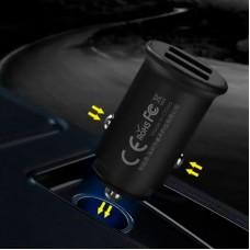 Адаптер автомобильный 2USB Remax RCC219 2.4A Black
