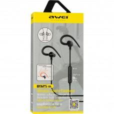 Наушники гарнитура вакуумные Bluetooth Awei B925BL Sport Green
