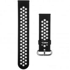 Ремешок силиконовый для Smart Watch Gelius Pro GP-SW001 NEO Black/Grey