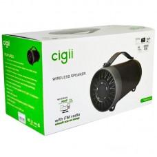 Колонка портативная Bluetooth Cigii S11F Black