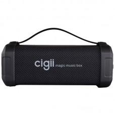 Колонка портативная Bluetooth Cigii F62D Black