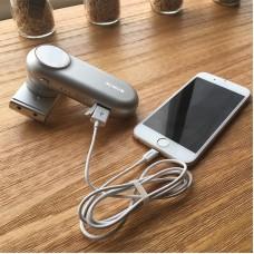 Стедикам электронный 1-х осевой для смартфона Wewow Fancy Silver