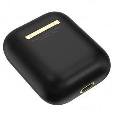 Наушники гарнитура вкладыши Bluetooth Hoco ES28 Black