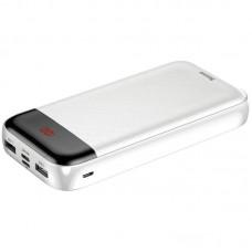 УМБ Power Bank Baseus Mini Cu Digital LCD 20000mAh PPALL-CKU02 White