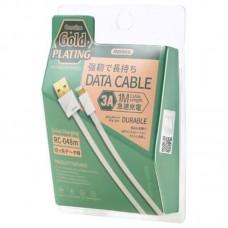 Кабель USB-Lightning Remax Plating QC RC-048i iPhone X 1m White