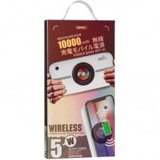 УМБ Power Bank Remax RPP-91 Camera Wireless 10000mAh White