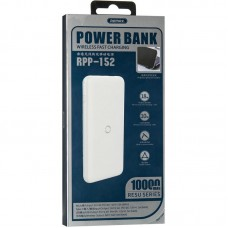 УМБ Power Bank Remax RPP-152 Resu Wireless 10000mAh Blue
