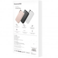 УМБ Power Bank Baseus Thin Version Wireless Charger 10000mAh PPALL-QY04 Pink