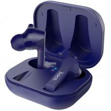 Наушники гарнитура вакуумные Bluetooth Hoco ES34 Blue