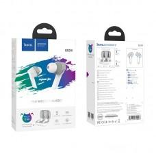 Наушники гарнитура вакуумные Bluetooth Hoco ES34 White
