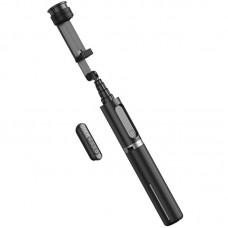 Монопод для селфи Bluetooth Hoco K13 Scepter Black/Grey