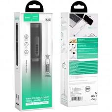 Монопод для селфи Bluetooth Hoco K13 Scepter White/Silver
