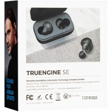 Наушники гарнитура вакуумные Bluetooth SoundPeats TrueNgine SE Black