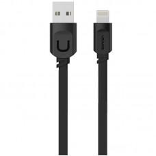 Кабель USB-Lightning Usams US-SJ007 U-Trans Black 0.25m