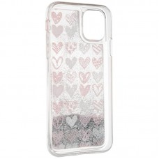 Чехол накладка TPU SK Aqua Case для iPhone 7 8 Hearts