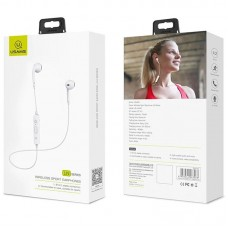 Наушники гарнитура вкладыши Bluetooth Usams LN Series White (US-LN001)