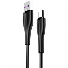 Кабель USB-Type-C Usams US-SJ376 Fast Charging U38 Black 1m