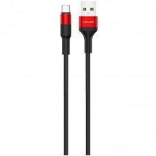 Кабель USB-Type-C Usams US-SJ221 Braided U5 Red 1.2m