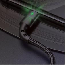 Кабель USB-Lightning Usams US-SJ309 U26 Black 0.5m