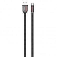 Кабель USB-Type-C Hoco U74 Grand 1m Black