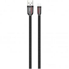 Кабель USB-Lightning Hoco U74 Grand 1m Black