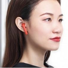 Наушники гарнитура вкладыши Bluetooth Baseus W09 Red