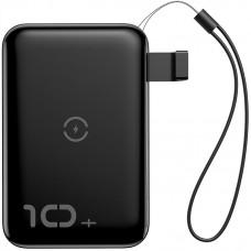 УМБ Power Bank Baseus Mini S Wireless 10000mAh Black (PPXFF10W-01)