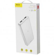УМБ Power Bank Baseus M36 Wireless 10000mAh White (PPALL-M3602)