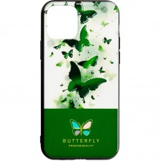 Чехол накладка TPU SK Butterfly для Huawei Y6s 2019 Y6 Prime 2019 Honor 8a Green