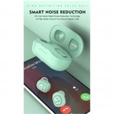 Наушники гарнитура вакуумные Bluetooth OneDer TWS-W13 Green