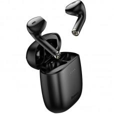 Наушники гарнитура вкладыши Bluetooth Baseus W04 Pro Black