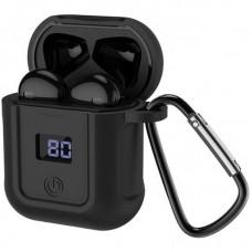 Наушники гарнитура вкладыши Bluetooth Hoco S11 Black