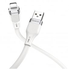 Кабель USB-Lightning Hoco U72 Forest Silicone 1.2m White