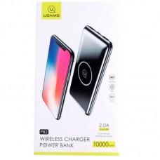 УМБ Power Bank Usams PB2 Wireless 10000mAh Black US-CD64