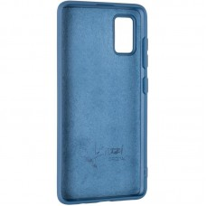 Чехол накладка TPU 2 в 1 Krazi Lot Full Soft для Samsung A415 A41 Black/Blue