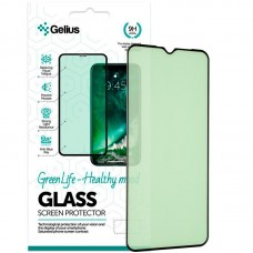 Защитное стекло Gelius Green Life Full Glue для Realme C3 Black