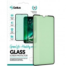 Защитное стекло Gelius Green Life Full Glue для Realme XT Black