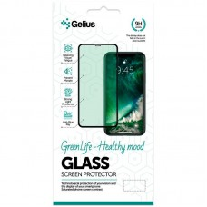 Защитное стекло Gelius Green Life Full Glue для iPhone SE 2020 Black
