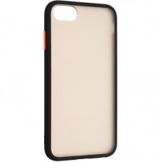 Чехол накладка PC Gelius Bumper Mat для iPhone 7 8 Black