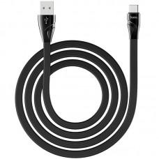 Кабель USB-Type-C Hoco U57 Twisting 1.2m 2.4A Black