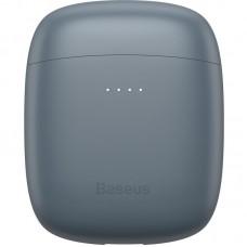 Наушники гарнитура вкладыши Bluetooth Baseus W04 Pro Grey
