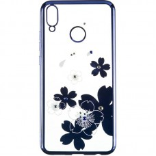 Чехол накладка TPU Beckberg Breathe New для Huawei P40 Lite Flowers