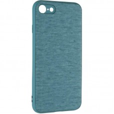 Чехол накладка TPU Gelius Canvas для iPhone 7 8 Blue