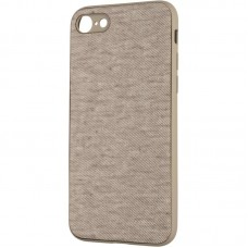 Чехол накладка TPU Gelius Canvas для iPhone 7 8 Beige