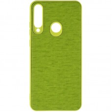 Чехол накладка TPU Gelius Canvas для Huawei Y6P Green