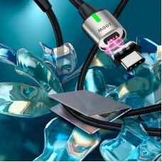 Кабель Type-C-Type-C Baseus Zinc Magnetic 100W 5A 1.2m Black (CATXC-K01)