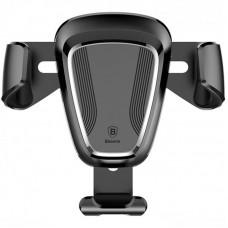 Автодержатель Baseus Penguin Gravity на решетку (SUYL-QE01) Black